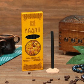 """A set of Russian traditional incense """"Incense"""", 7pcs + stand"""