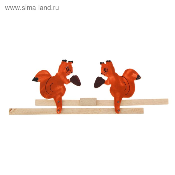 "Сувенир деревянный ""Белочки"""