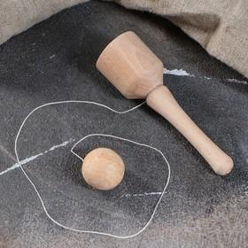 """Сувенир деревянный, для развития координации """"Закидушка"""""""