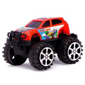 Машина инерционная «Джип», цвета МИКС