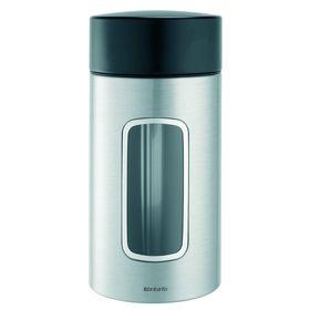 Контейнер Brabantia для сыпучих продуктов с окном, 1,7 л
