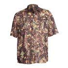 """Рубашка с коротким рукавом """"Бриз""""(лес) 56/170-176 р-р"""