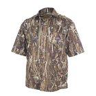"""Рубашка с коротким рукавом """"Бриз""""(осока) 54/170-176 р-р"""