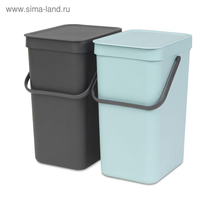 Набор ведер для мусора SORT&GO 12л (2шт)