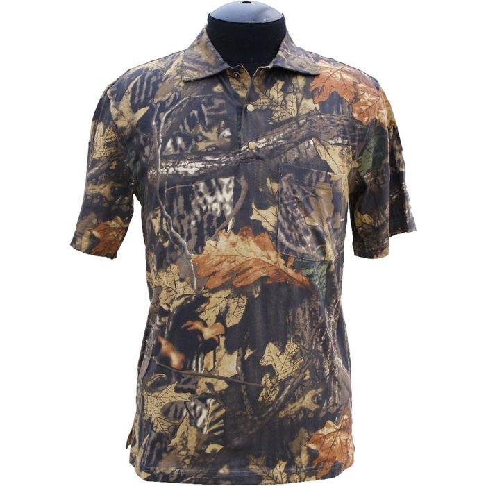 Рубашка с коротким рукавом (лес) 54/182-188 р-р