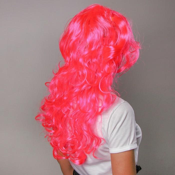 Карнавальный парик с двумя хвостиками, 120 г, цвета МИКС