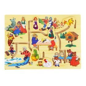 Лабиринт «Русские сказки «, 6 фигур