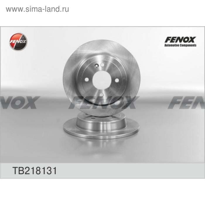 Диск тормозной задний Fenox TB218131