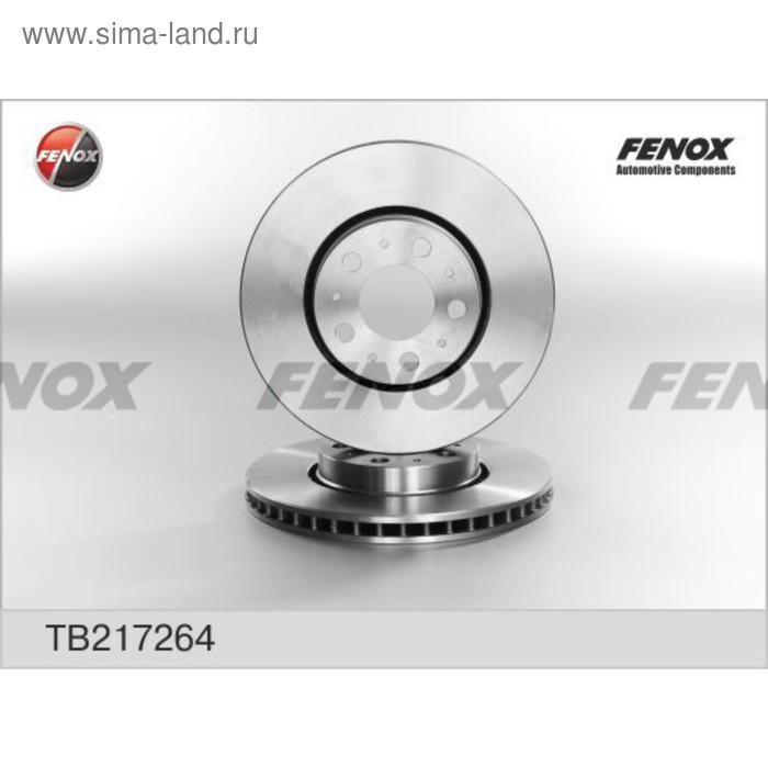 Диск тормозной передний Fenox TB217264