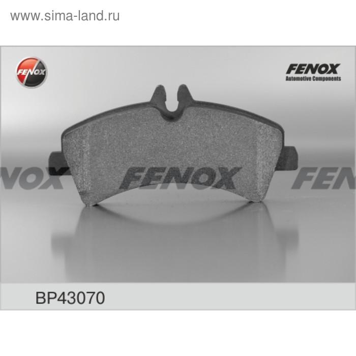 Тормозные колодки задние Fenox BP43070