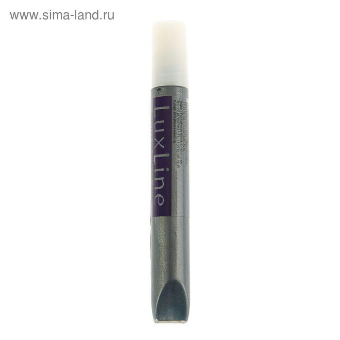 Контур по стеклу витражный Pearl ЛК LuxLine, 12 мл, чёрный перламутр