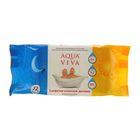 Салфетки влажные «Aqua Viva», с экстрактом ромашки, 72 шт