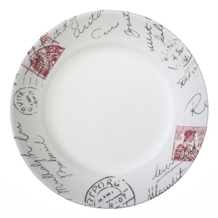 Тарелка обеденная Sincerely Yours, d=27 см