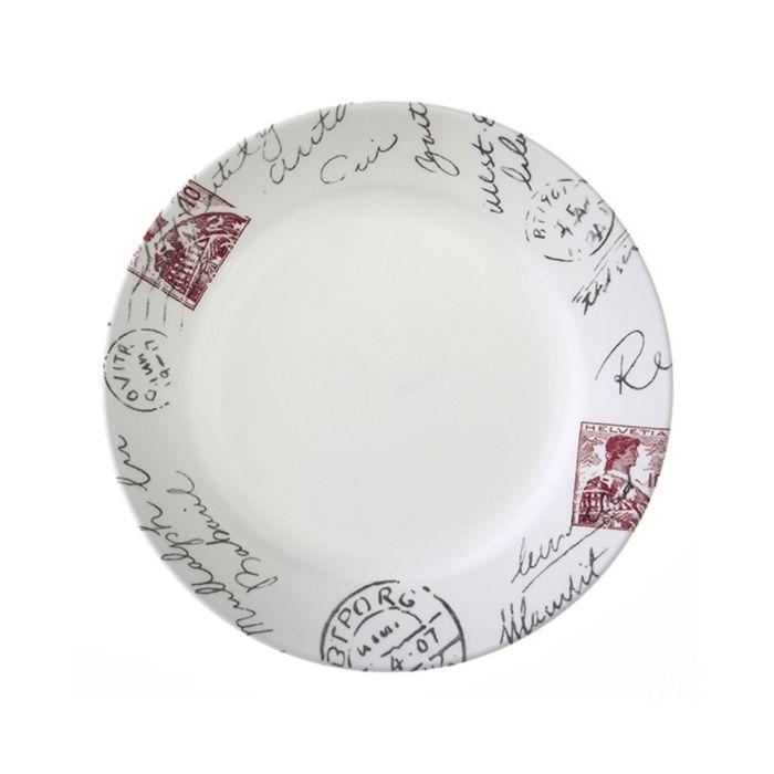 Тарелка закусочная Sincerely Yours, d=22 см