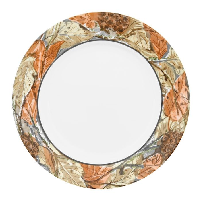 Тарелка обеденная Woodland Leaves, d=27 см