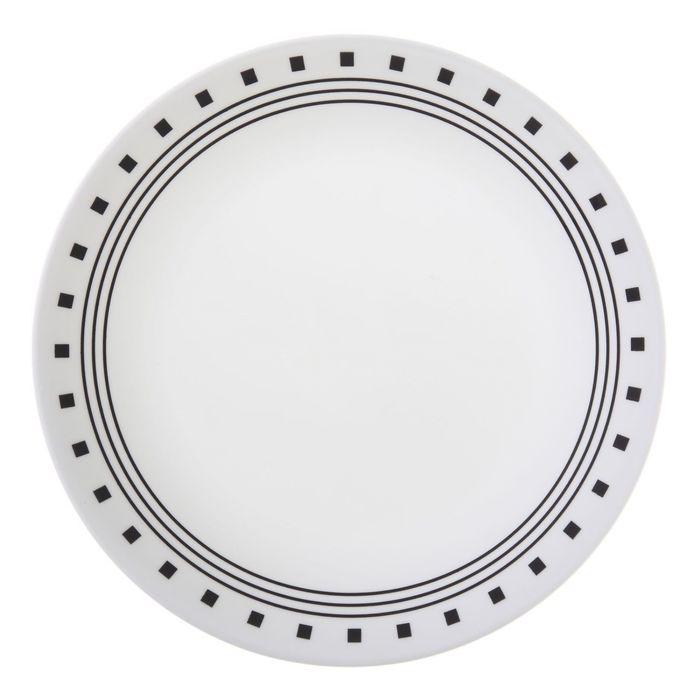 Тарелка закусочная City Block, d=22 см