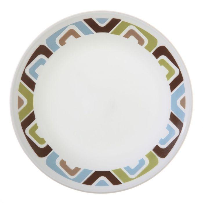 Тарелка десертная Squared, d=17 см