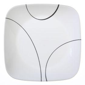 Тарелка закусочная Simple Lines, d=22 см
