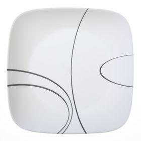 Тарелка обеденная Simple Lines, d=26 см