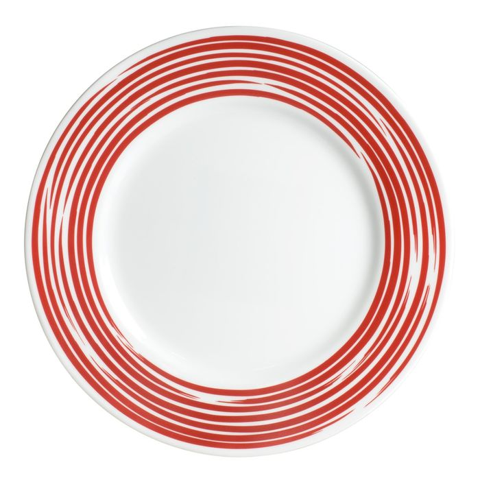 Тарелка закусочная Brushed Red, d=22 см