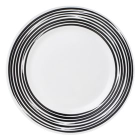 Тарелка закусочная Brushed Black, d=22 см