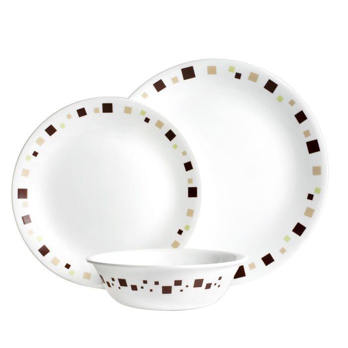 Набор посуды Geometric, 12 предметов