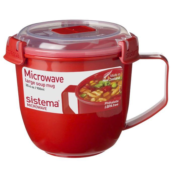MICROWAVE Кружка суповая 900мл