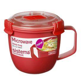 MICROWAVE Кружка суповая 565мл