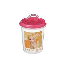 Детская чашка с трубочкой, 250 мл, микс