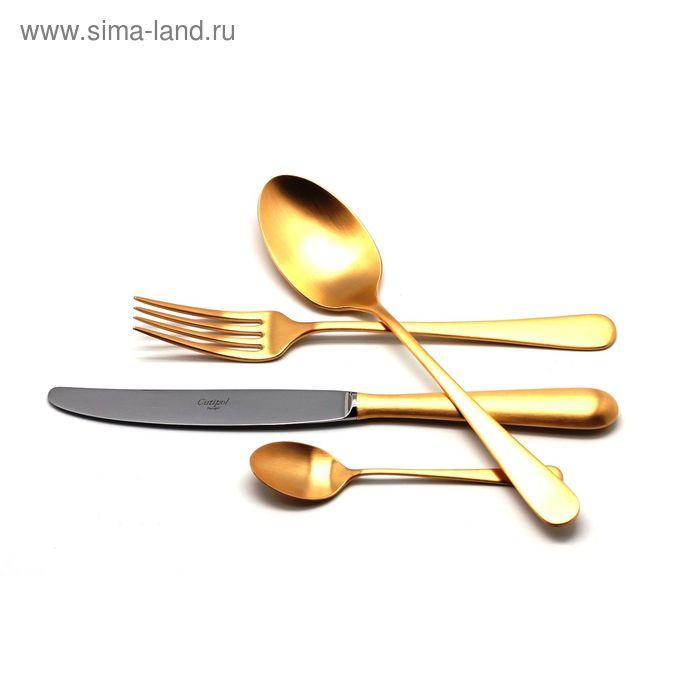 Набор столовых приборов ALCANTARA GOLD мат. 24 пр.