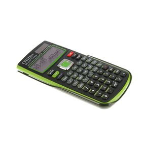 Калькулятор научный 10+2 разрядный, питание от батарейки, зеленый (SR270XGRCFS) Ош