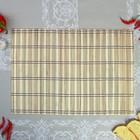 Салфетка, 50×35 см, бамбук