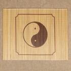 Салфетка «Инь-Янь», 40×30 см, бамбук