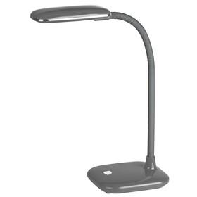 Светильник настольный ЭРА NLED-450 5W-GY серый