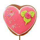 Пряник имбирно-медовый Сердце на палочке ТМ Пекарня Sofi, 45 г