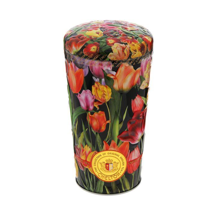 "Цейлонский чай Chelton ""Тюльпаны"",150 г, ж/банка"