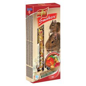 Лакомство Smakers®  Vitapol для дегу с фруктами, орехами и лепестками роз