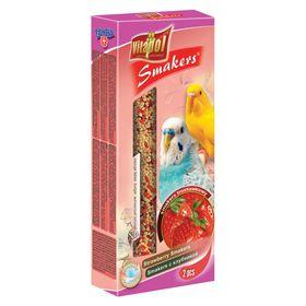 Лакомство Smakers® Vitapol для волнистых попугаев, с клубникой