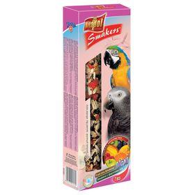 Лакомство Smakers maxi Vitapol для крупных попугаев, с фруктами