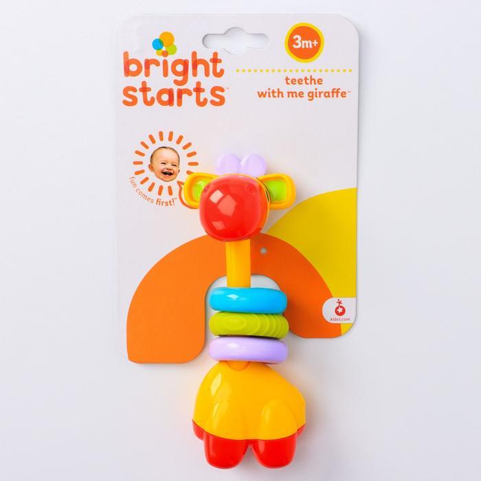 Развивающая игрушка – прорезыватель «Веселый жираф» - фото 797774016