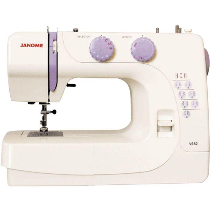 Швейная машина Janome VS-52, 15 операций, потайная, эластичная строчка