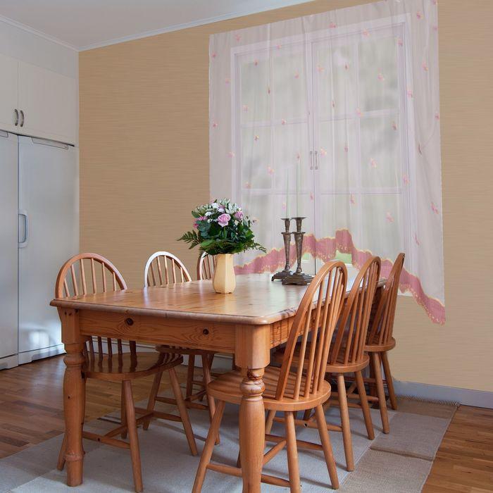 Штора для кухни Этель №3: «Бабочки» ширина 280 см, высота 170 см, 100% п/э