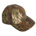 Кепка тактическая с козырьком New baseball hat CA915 mandrake camo, размер универсальный