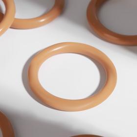 Кольцо для карниза, d = 37/48 мм, цвет светлый дуб