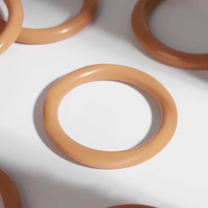 Кольцо для штор, d = 37/48 мм, цвет светлый дуб