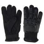 Перчатки тактические усиленные, размер L, black