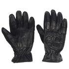 Перчатки тактические, усиление из искусственной кожи, размер универсальный, black