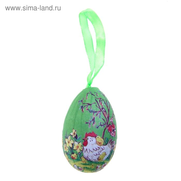"""Сувенир - пасхальное яйцо """"Курочка"""" (набор 6 шт)"""