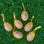 """Сувенир - пасхальное яйцо """"Заячья семья"""" (набор 6 шт), цвета МИКС"""