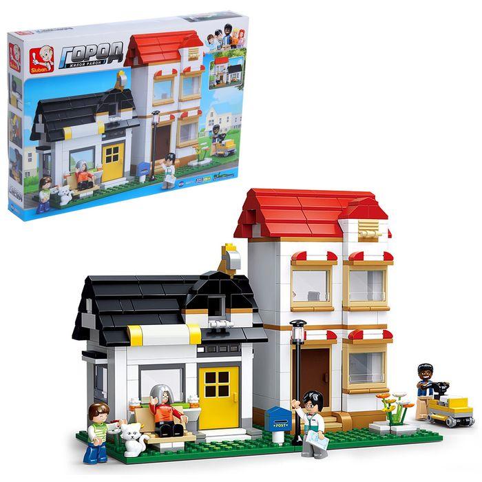 Конструктор «Двухэтажный дом», 431 деталь